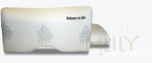Serenity Pillow By Mlily - This High Quality Memory Foam Pillow Will Be Your Only Pillow! by MLILY