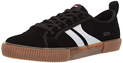 Globe Men's Filmore Skate Shoe Black/White/Gum 7 M US