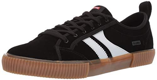 Globe Men's Filmore Skate Shoe, Black/White/Gum, 12 M US - Globe Skateboarding Shoes