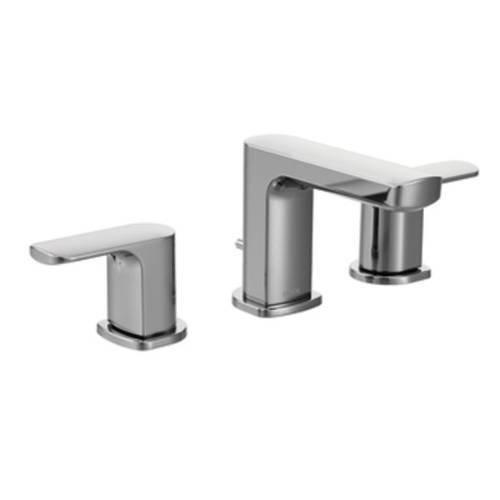 Moen T6920 Rizon Two-Handle Widespread Bathroom Faucet without Valve, Chrome best