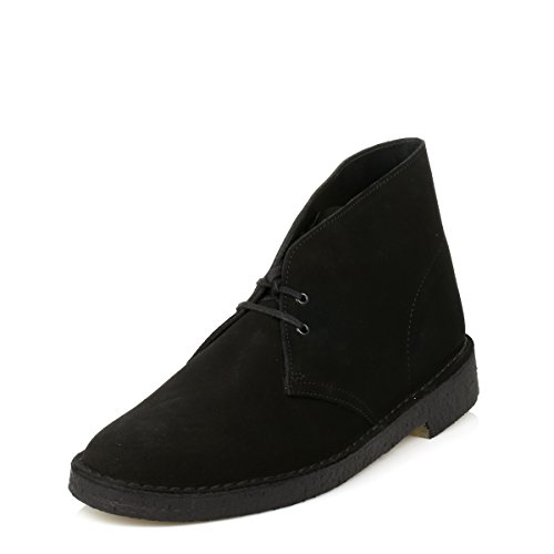 Clarks uomo Originals Stivali Boot Desert D12 Black Mono rqrw8Un1x
