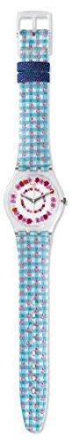 Swatch Women's GZ291 Originals Analog Display Swiss Quartz Multi-Color Watch