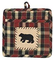 Concord Bear Patch Potholder with Pocket