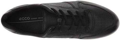 Perforated Men ECCO Tie Black Sneaker Enrico W6XanqX