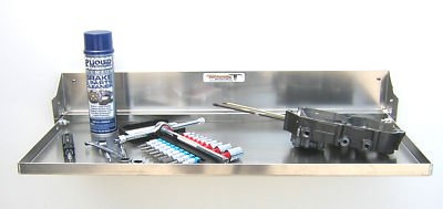 Aluminum Work Station Tray Cabinet Car Trailer Shelf