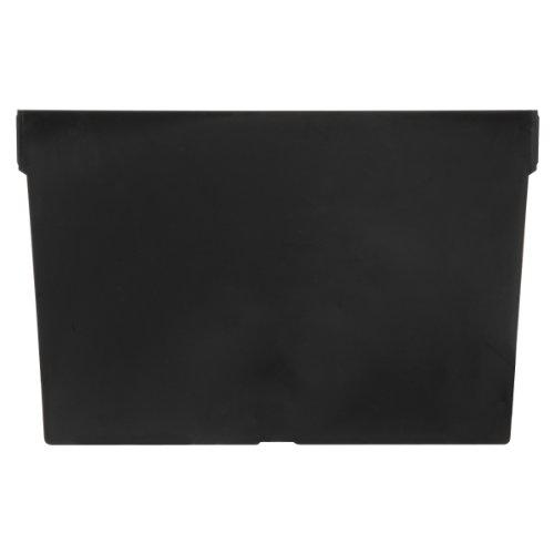 Akro-Mils 40040 Width Divider for 30080 and 30088 ShelfMax Plastic Nesting Shelf Bin Box, Black, Pack of 12