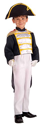 [Forum Novelties Colonial General Child Costume, Medium] (Kids Abraham Lincoln Costumes Kit)