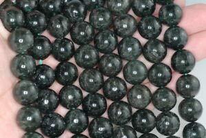- 10MM Green RUTILATED Quartz Gemstone Grade AA Round Loose Beads 7.5