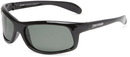 PEPPERS Strike Wrap Sunglasses,Black Frame/Smoke Lens,one - Sunglasses Clearance