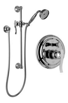 Lm20s Pc - Graff G-7117-LM20S-PC - Traditional Pressure Balancing Shower set w/Handshower & Slidebar