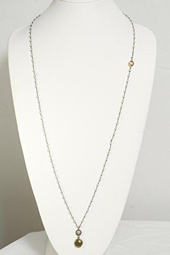 Unique Moonstone Beaded Necklace with Smokey Topaz, Green Quartz, and Cubic Zircon Star Trinket