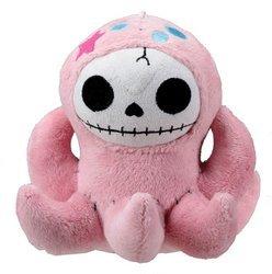 Furrybones Pink Octopus Octopee Plush Doll