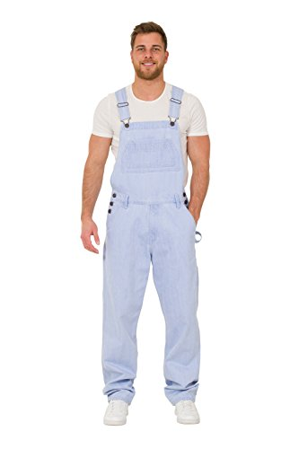 [해외]남성용 레귤러 피트 데님 오버 클로저 - 창백한 세제 값 세공 바지/Mens Regular Fit Denim Overalls ? Pale wash Value overalls cheap overalls