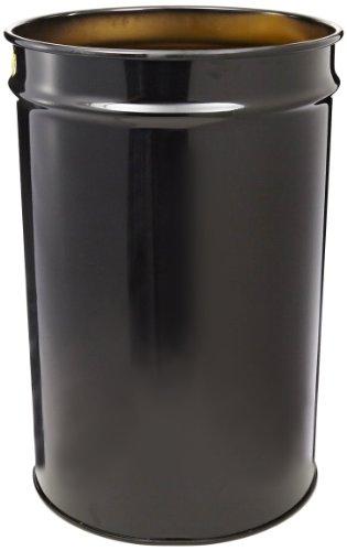 Justrite 26014K Cease-Fire Steel Drum, 30 Gallon Capacity, 19-1/4