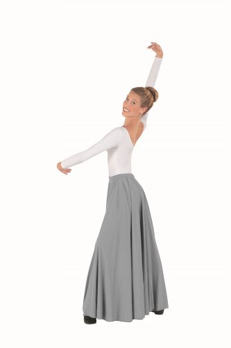 Eurotard Adult Plus Size Triple Panel Lyrical Skirt - 13674p