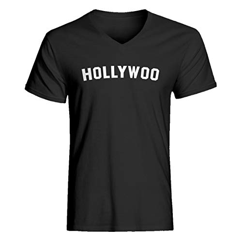 Indica Plateau Vneck Hollywoo Medium Charcoal Grey T-Shirt