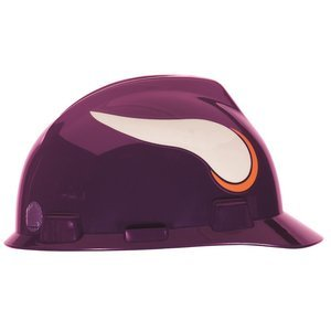 NFL Hard Hat, Minnesota Vikings, Pur/Wht 1