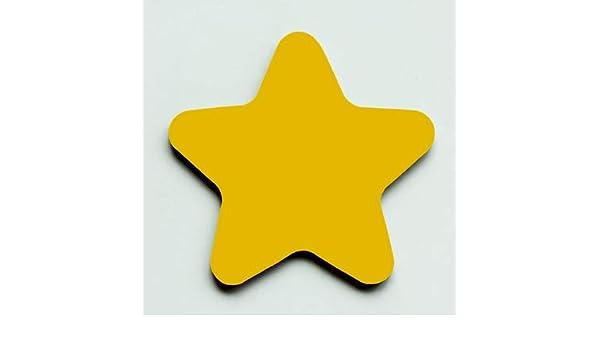 Pentagrama Magnético Redondeado Estrellas Pizarra Pegatinas ...