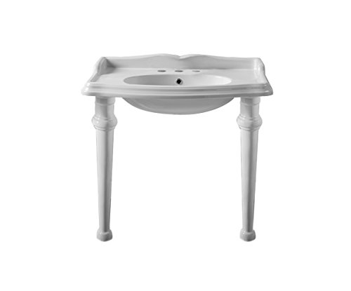 China Series Wall Mount Lavatory Sink with Leg Support and W