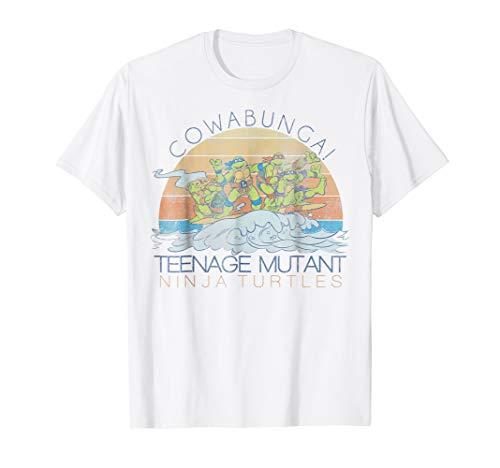 Teenage Mutant Ninja Turtles Cowabunga Surf Tee-Shirt ()