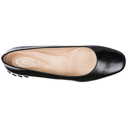 Escarpins Femme À Noir Tod's Talon Cuir Chaussures En PdqvvxOn