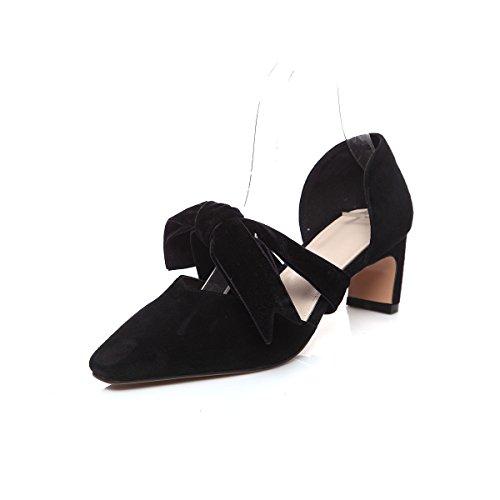 Donyyyy Zapatos de mujer, sandalias, tacones altos arcos y femenino Thirty-seven