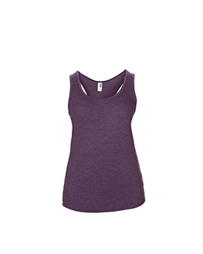 Anvil - Camiseta - para mujer Heather Aubergine