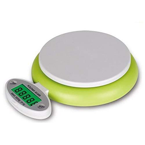 Digital Kitchen Food Scale - Food Scale Multifunction Digital 11lb 5kg Folding Lcd Display Screen With Precision Backlit - 22lb Conversion Chart Precision High Portions Scale Kitchen Digit