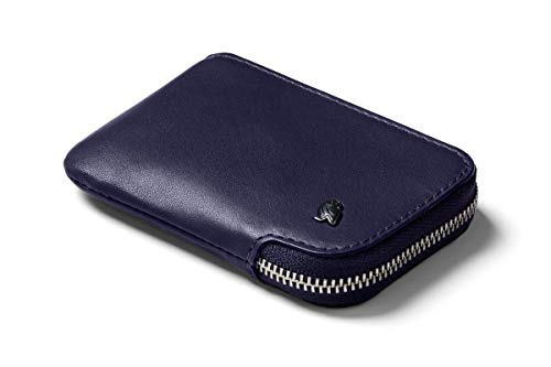 Bellroy Leather Card Pocket Wallet (Max. 15 cards and bills) - Navy (Designer Coin Pouch For Men)