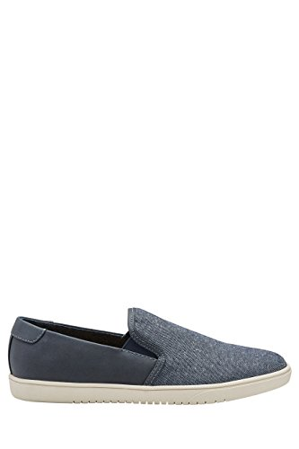next Herren Kanvas-Slipper Blau