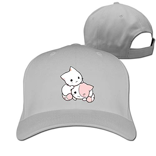 Chibi Kawaii Cats Women Men Baseball Hat Hip Hop Casquette Adjustable -