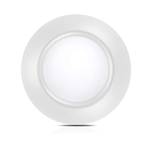 White Dimmable LED Disk Light, SOLLA 7.5