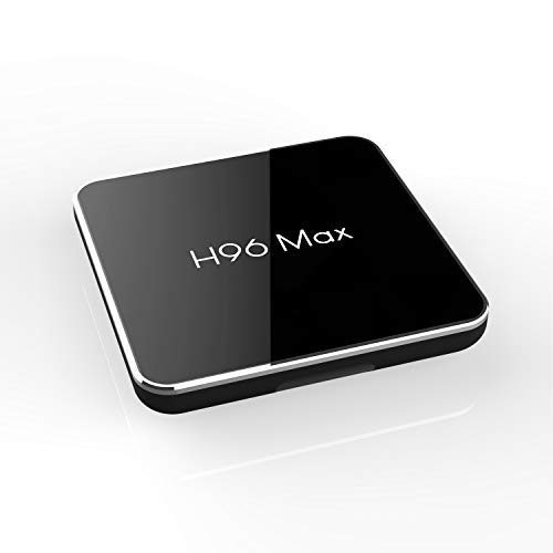 H96 max X2 Android 8.1 TV Box, 4GB RAM 32GB ROM Amlogic Quad core Support WiFi 2.4G+5G/4K/3D Smart TV Box Streaming Media Player ()