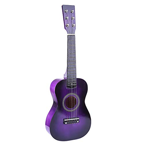 RuiyiF Kids Guitar, 23 Inch Kids Acoustic Guitars for Boys Girls Toy Guitar for Toddlers Ages 3-5 (Pick and Spared String Included)