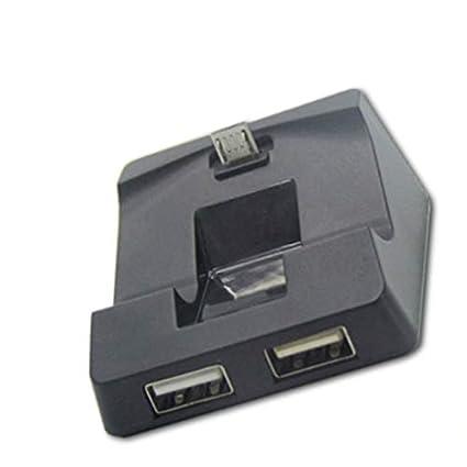 para PS4 Cargador Mando inalámbrico Soporte Plug Juego Juego ...