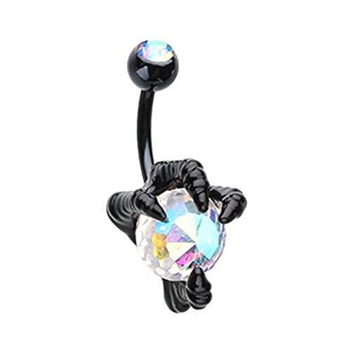 - Black Dragon's Claw WildKlass Belly Button Ring