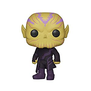 Funko Pop! Marvel: Captain Marvel - Talos Toy, Standard, Multicolor