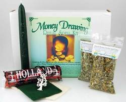 Money Drawing Boxed ritual - Kit Ritual Drawing Money