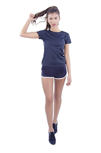 FFOMO Ava Womens cool T azul marino