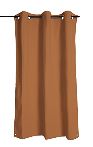 "GALE Coolaroo Exterior Curtain, Apricot, 60"" x 96"""