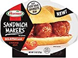 Hormel, Sandwich Makers, Meatballs in Marinara Sauce, 7.5oz Container (Pack of 6)