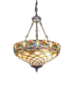 Tiffany Style Mission Hanging Pendant Light