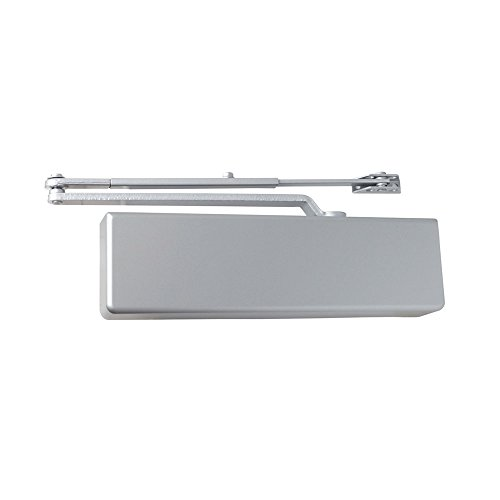 Dexter Commercial Hardware DCH1000-STD-FULL-RW/PA-ALUM, Heavy Duty Regular arm Surface Door Closers with Full cover, 689/ALUM, Aluminum by Dexter Commercial Hardware