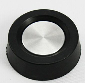 Replacement Washer Timer Knob 3362624 for Whirlpool Washer Sears, 3387785 387987 PS342371 AP3096351 - Black Timer Knob