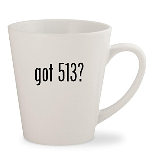 got 513? - White 12oz Ceramic Latte Mug - Ebc Gear