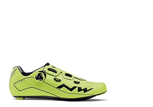 Zapatos de Ciclismo NW Flash YLW/BLK - 42