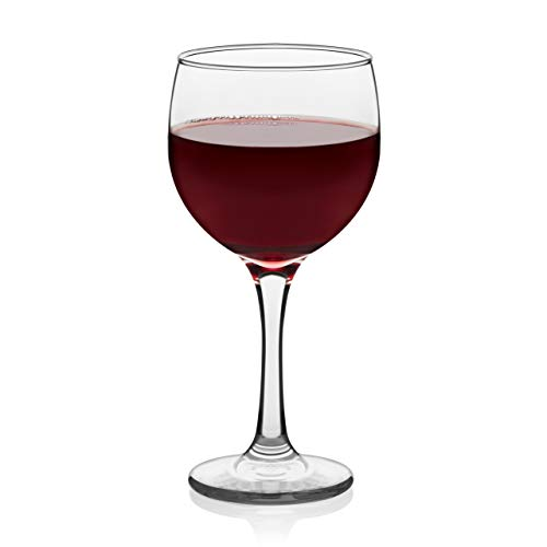 Libbey Claret Red Wine Glasses, Set of 8