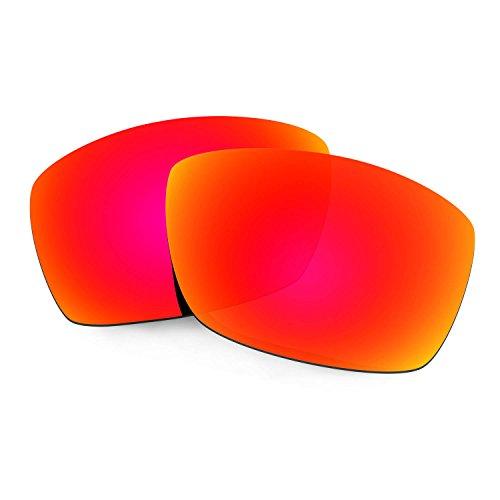 Hkuco Mens Replacement Lenses For Costa Corbina Sunglasses Red