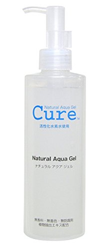 Natural Aqua Gel Cure 250ml (Natural Exfoliator)