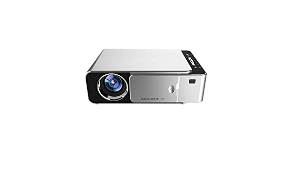 BESTSUGER Retroproyector, proyector LED, 200 Pulgadas HD 1080P ...